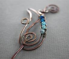 Scarf Pin Or Shawl Pin In Paisley Design With Ombre By