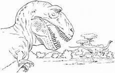 Malvorlagen Dinosaurier T Rex Free T Rex Jagt Einen Saurier Ausmalbild Malvorlage Tiere