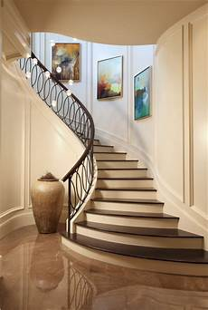 treppenaufgang wand gestalten 15 engaging ideas for designing curved staircase in your home