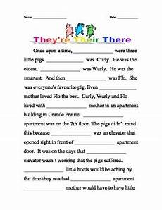 homophones their there they re by kathleen smith tpt