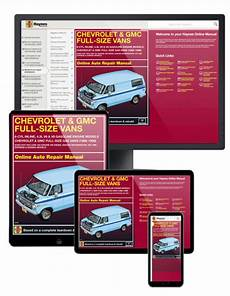 book repair manual 1993 chevrolet g series g30 electronic throttle control 1993 chevrolet g30 haynes online repair manual 1 year access ebay