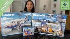 playmobil flughafen terminal und flugzeug neu playmobil