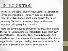 industrial ownership