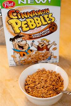 cinnamon pebbles delicious new cereal from churros chasing supermom