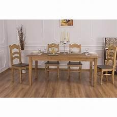 Table De Salle 224 Manger Rectangulaire En Bois Massif Le
