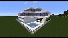 Minecraft Modern House Tutorial Best Modern House 2016