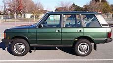automobile air conditioning service 1990 land rover range rover parental controls clean rust free 1990 land rover range rover county classic 3 9l short wheelbase for sale photos