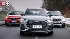 Drei Kompakt Suv Im Vergleich Audi Q3 Gegen Bmw X1 Und