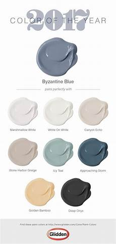 glidden 2017 paint color of the year colors pinterest