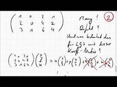 04c 4 rang spaltenraum bild defekt kern einer matrix