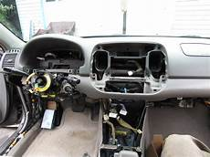 airbag deployment 2004 toyota sienna instrument cluster diy black interior swap dash removal procedure toyota nation forum toyota car and truck