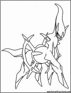 Arceus Coloring Page Quiz Arceus Coloring Page