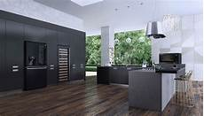 Black Kitchen - lg announce matte black range of kitchen appliances 187 eftm