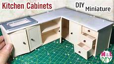 diy kitchen furniture diy miniature kitchen cabinets how to make kitchen