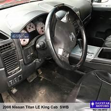 tire pressure monitoring 2008 nissan titan transmission control 2008 nissan titan le king cab swb daystar motors 2865 rt 9w saugerties ny 12477 845 246 8033