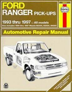 what is the best auto repair manual 1993 chevrolet sportvan g30 engine control ford ranger and mazda pick ups automotive repair manual 1993 thru 1997 eric jorgensen