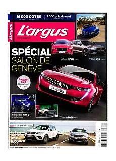 magazine l argus de l automobile en abonnement