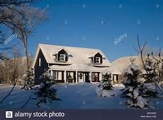 Malvorlage Haus Mit Schnee Shefford Kanada Ein Haus Im Winter Mit Schnee