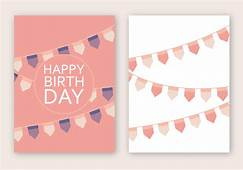 Happy Birthday Card Vector  Download Free Art