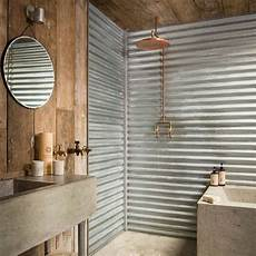 Bathroom Ideas Using Corrugated Metal by 12 Ways To Use Metal In Your Home Decor