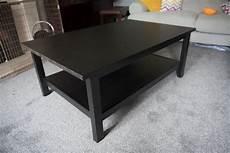 ikea hemnes beautiful black brown coffee table in