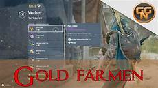 assassins creed origins gold farmen guide gold farming