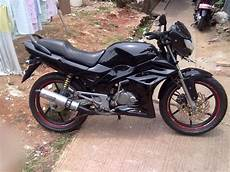 Honda Tiger 2000 Modif Simple by Modif Motor Tiger Tahun 2005 Hitam Simple Modifikasi