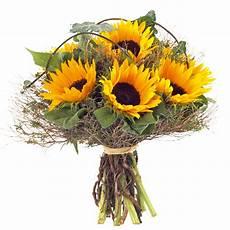 bouquet de tournesol couleur jaune