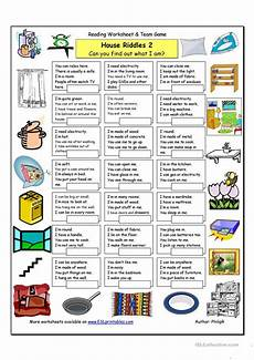 house riddles 2 medium worksheet free esl printable worksheets made by teachers
