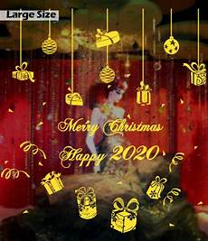 5x7ft Vinyl Merry Happy Year by 50cm 110cm Merry Gift Happy New Year Wall Shop