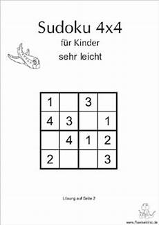 Kinder Malvorlagen Sudoku Kinder Sudokus Zum Ausdrucken Raetseldino De