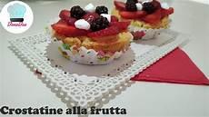 Crostatine Golose Alla Frutta Youtube | crostatine alla frutta di pasta frolla veloce con crema pasticcera youtube