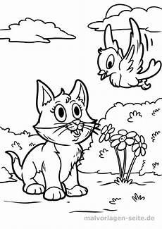 Kinder Malvorlagen Katze Ausmalbilder Katzen F 252 R Kinder Kostenlos Drucken Und