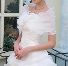 2018 tempting or ivory ruffled organza wedding bridal