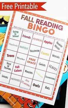 make reading fun with fall book bingo free printable sunny day family