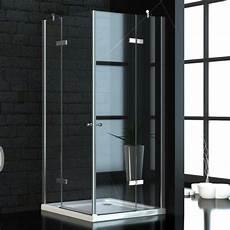 Duschkabine Glas Eckeinstieg - eckeinstieg duschkabine 90x90 cm 8mm esg glas mit acryl