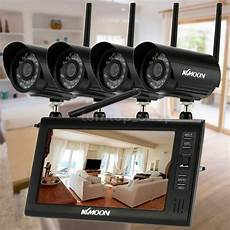 cctv with recording wireless 4ch dvr kit 7 quot motion detection recording ir cut