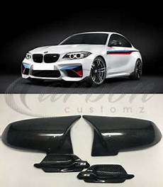 bmw f87 m2 real carbon fibre m3 m4 style mirror covers 2015 side grille s ebay