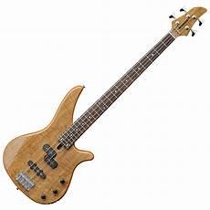 yamaha rbx170ew wood bass gitarre natur auf