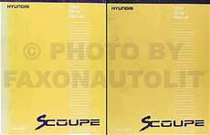 automotive service manuals 1994 hyundai scoupe free book repair manuals 1993 hyundai scoupe repair shop manual original 2 volume set