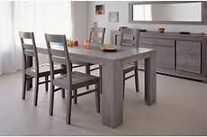 meuble salle a manger ensemble salle 224 manger design ch 234 ne gris 233 4 chaises