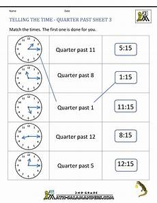 reading time worksheets for grade 2 3168 clock worksheets quarter past and quarter to