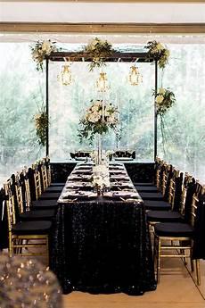 black and gold wedding in paris formal wedding reception gold wedding theme wedding colors
