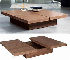 Designer Couchtisch Holz - stylish coffee tables that as storage units