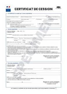 certificat de cession simplifié certificat de cession cerfa 15776 01 startdoc