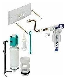 geberit drückerplatte montageanleitung geberit 240 835 00 1 cistern water saving conversion kit