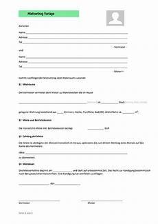 mietvertrag vorlage dokument blogs