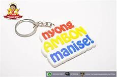 gantungan kunci nyong ambon manise the ambon manise shop oleh oleh khas maluku