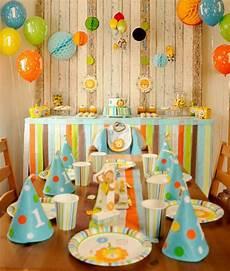 Der Erste Geburtstag Unseres Sohnes Mit Zooparty Motto 1