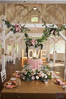 42 glamorous rose gold wedding decor ideas gettin